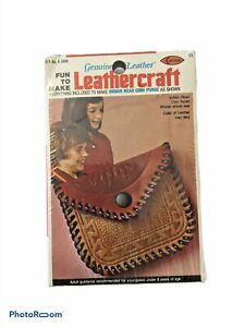Arrow Leather Craft Kit Indian Head Coin Purse Vintage 1976 Unopened