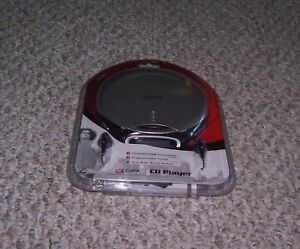 GPX CDP1807 PORTABLE COMPACT DISC CD PLAYER NEW!