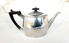More details for george iii silver teapot - michael plummer, london, 1793.