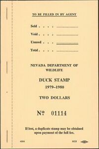 Nevada #1 1979 Complet Intact Livre De 20 Timbres Chat