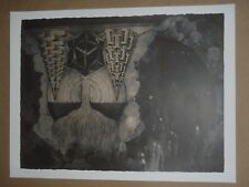 The Forgiven Ghost In Me Thomas Hooper poster print Neurosis Scott Kelly tattoo