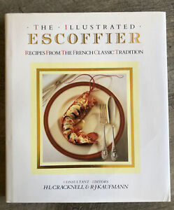 THE ILLUSTRATED ESCOFFIER - HARDCOVER - FRENCH CLASSIC TRADITIONAL COOKBOOK