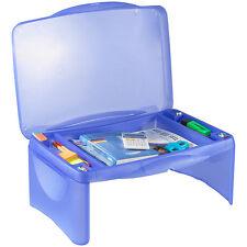 Notebooktische: Mobiler Notebook-Tisch mit integrierter Ablage (Laptop Auflage)