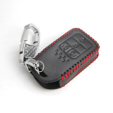 Leather Smart  Key Cover Case Protector Holder Fob  For Honda Pilot Accord Civic