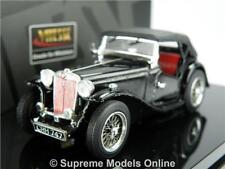 MGTC Model Car 1 43 Size Vitesse Black 29160 MG TC Sports 938 Produced K8q