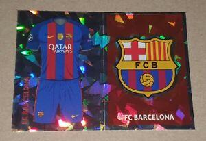 Barcelona - Badge/Kit - Topps - Champions League 2016/17