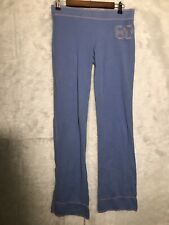 Vintage Victoria Secret Pink Track Pants Color Periwinkle and Pink Size Small