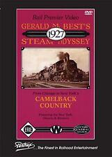 GERALD M BEST'S 1927 STEAM ODYSSEY NEW PENTREX DVD VIDEO CNW, RI, ER, NYC, DEL