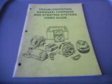 Kawasaki Troubleshooting Starting & Charging Systems Video Guide Manual
