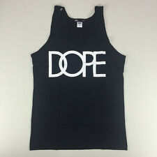 DOPE logo Tank - Black Casual Tank Top New - Size: S, XL