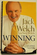 """JACK WELCH with SUZY WELCH   """" Winning""""  Hard Cover Book"""