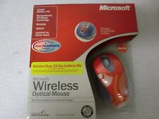 Microsoft Wireless Optical Mouse w/Tilt - Groovy Color USB - New/Factory Sealed