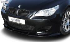 RDX Spoilerlippe für M5 BMW E60 Front Ansatz Schwert  M Performance 5er M-Tech