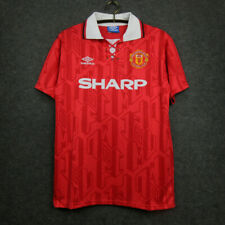 1992-94 Manchester United Home Shirt #7 Cantona In All Sizes By Umbro