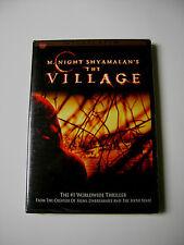 M. Night Shyamalan's Halloween Thriller Movie THE VILLAGE on Widescreen DVD