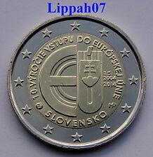 Slowakije speciale 2 euro 2014 Tien jaar lid van de EU UNC