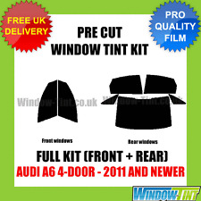 AUDI A6 4-DOOR 2011+ FULL PRE CUT WINDOW TINT KIT
