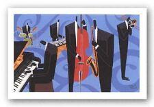 AFRICAN AMERICAN ART PRINT Concerted Effort Darryl Daniels