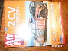 Auto Plus collection 2CV Citroen n°12 2cv du facteur