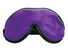 Dream Essentials Escape Luxury Travel Sleep Mask w/Carry Pouch & Earplugs Purple
