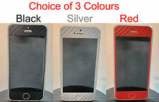 iPhone 5 Glossy 3D Carbon Fiber Full Body Skin sticker * Choice of  Colours **