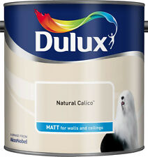 Dulux Smooth Emulsion Matt Paint - Natural Calico - 2.5L - Walls and Ceiling