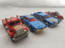 Hot Wheels Toy Cars 2 Cars 1 truck 1 Bike Vintage Die Cast