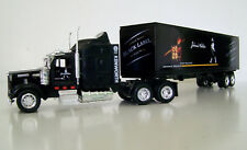 KENWORTH W900 Semi Truck Black Diecast 1:43 Scale Johnnie Walker Custom Graphics