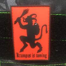 Tactical Outfitters - Krampus PVC GITD Morale Patch - Christmas xmas Santa Claus