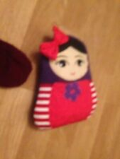 Russian Doll New Version With Heat Up Beans Hotwater Bottle Rag Doll