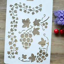 DIY Craft Flower Layering Stencils Templates Painting Scrapbooking Paper Cards