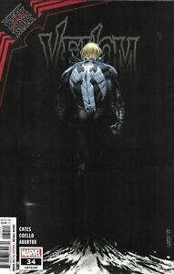 Venom Comic 34 Cover A Iban Coello First Print 2021 Donny Cates Aburtov Marvel