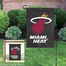 Miami Heat Applique and Embroidered Mini Garden/Window Flag