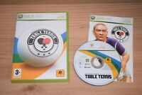 Rockstar Games Presents Table Tennis xbox 360 game PAL with MANUAL