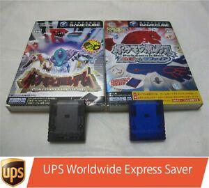 Game Cube Pokemon Colosseum+Pokemon Box w/Limited 59 Memory Card 2 Set Japanese