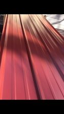 3x20ft New Metal Roofing  Panels Red Color 50 Sheets(read Full Descriptions)