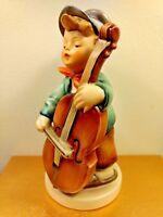 "Hummel ""Sweet Music"" Figurine #186 TMK-2 Full Bee 5-1/2"" Vintage Boy w Cello"