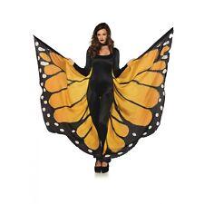Festival Monarch Butterfly Wing Halter Cape Women's Halloween Costume Accessory