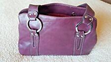 2a4e5a903b22 Next Soft Faux-Leather Handbag - Aubergine   Purple