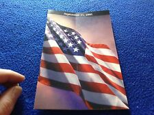 9/11/01 Tribute Pamphlet