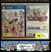 Nelke & and The Legendary Alchemists Playstation PS4 AUS SEALED