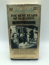 The Best Years of Our Lives Vhs 1947 Fredric March Myrna Loy Academy Award Movie