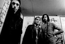 Nirvana Poster, Backstage, Grunge, 1990's, Alternative, Rock Music Icons