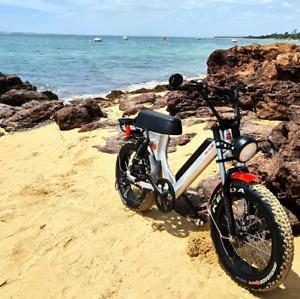 """MaddMaxx Fat E-bike 750W/48V/17.5Ah - -20"""" x 4"""" CST Semi"""