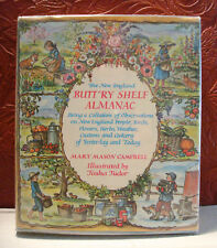 The New England Butt'ry Shelf Almanac M. M. Campbell Tasha Tudor HCDJ