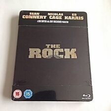 The Rock Blu-Ray Steelbook [UK] Play.com Exclusive! Region Free! New & Sealed!