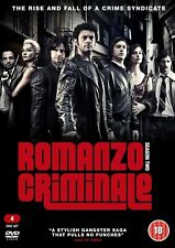 Romanzo Criminale: Season 2 DVD (2016) ITALIAN GANGSTER SERIES - 4 DISC SET