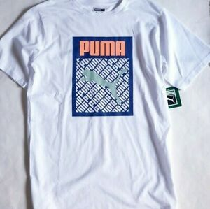 PUMA Boys T shirt Big Logo 1 T shirt Pick your size and color
