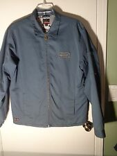 Quicksilver Gray Cotton Blend, Insulated, Full Zip Jacket, Mens Lg.