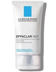 La Roche Posay EFFACLAR MAT Daily Moisturizer for Oily Skin 1.35oz NIB EX 4/23